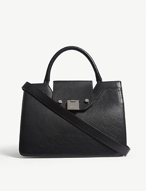JIMMY CHOO Rebel small leather tote bag