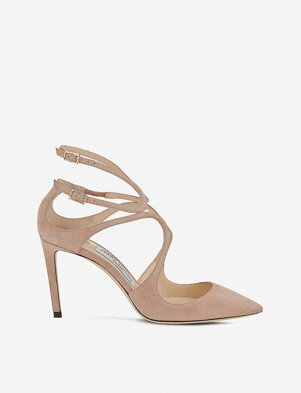 889617b1b JIMMY CHOO - Lancer 85 suede pointed courts | Selfridges.com