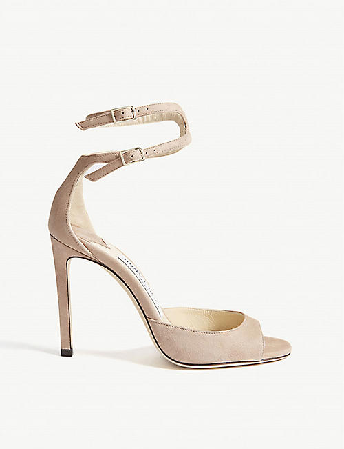 67fcf40c3007 JIMMY CHOO Lane 100 suede sandals