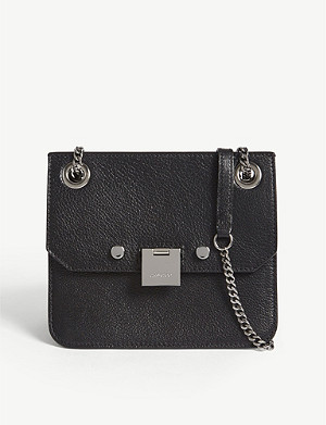 JIMMY CHOO Rebel/XB small leather cross-body bag