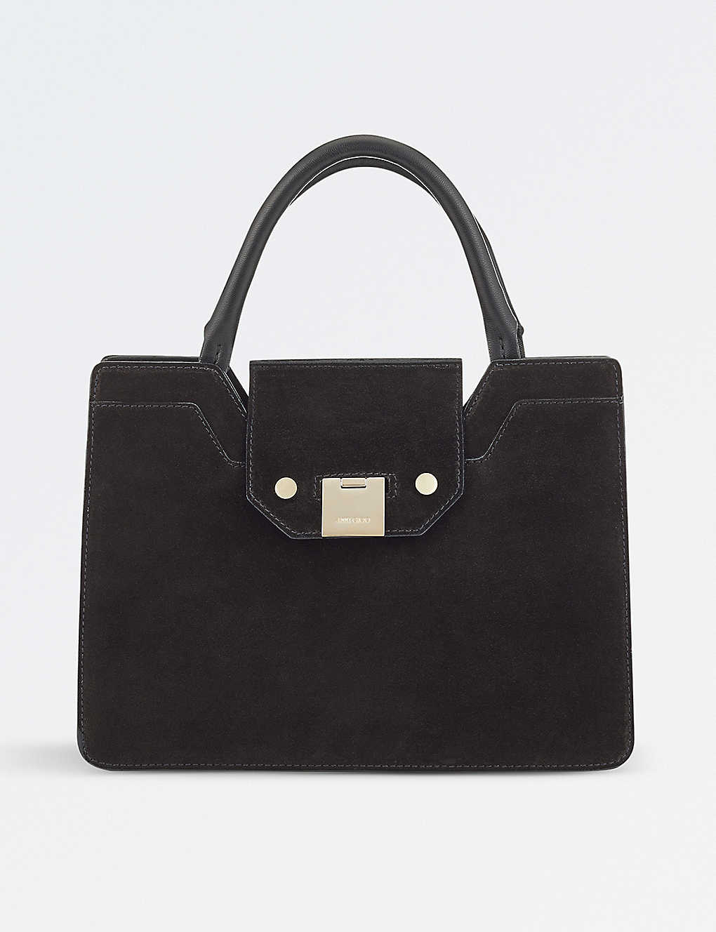 461b5d70604 JIMMY CHOO - Rebel small suede tote bag | Selfridges.com