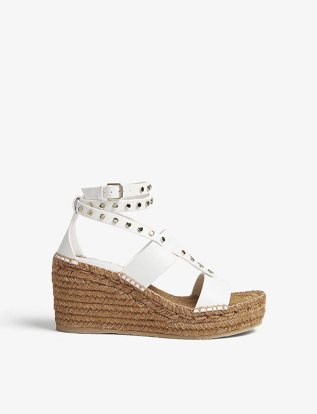 9b072f1c710 JIMMY CHOO - Danica 80 Vachetta leather sandals   Selfridges.com