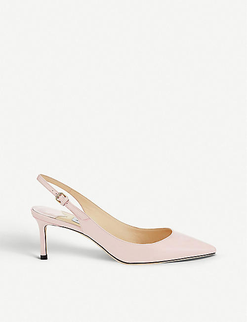 c1f8b494eb JIMMY CHOO Erin 60 patent-leather slingback courts
