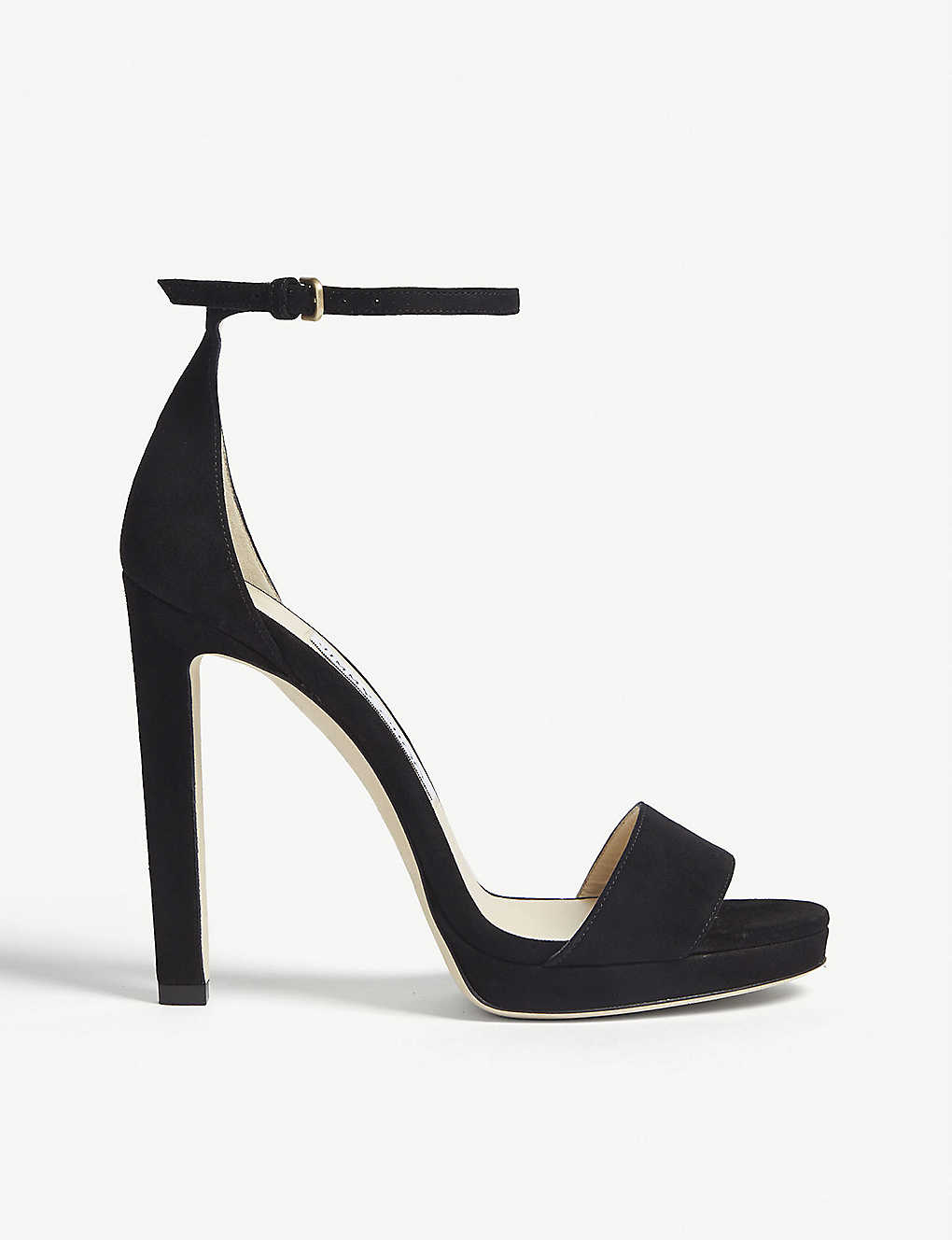 b1790a033fe JIMMY CHOO - Misty 120 suede heeled sandals