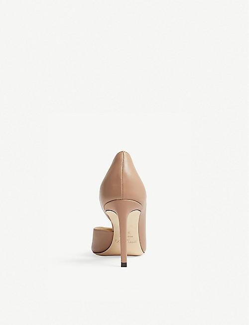 faa16736c3c9 JIMMY CHOO Sophia 85 leather heeled pumps