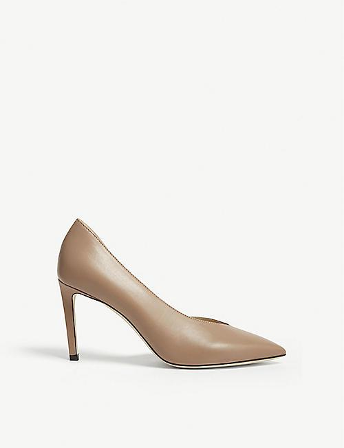 e5e9d17a6ab JIMMY CHOO Sophia 85 leather heeled pumps