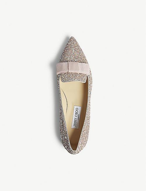 bd1229e76 JIMMY CHOO - Flats - Womens - Shoes - Selfridges | Shop Online