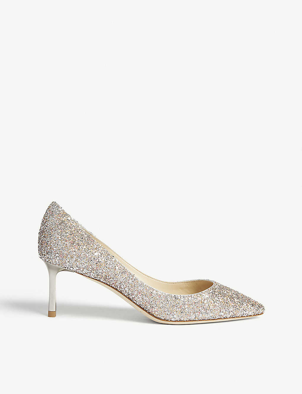 41f32b8ab JIMMY CHOO - Romy 60 speckled glitter courts | Selfridges.com