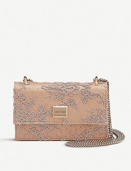 f7da82ee777f JIMMY CHOO Leni floral lace bag