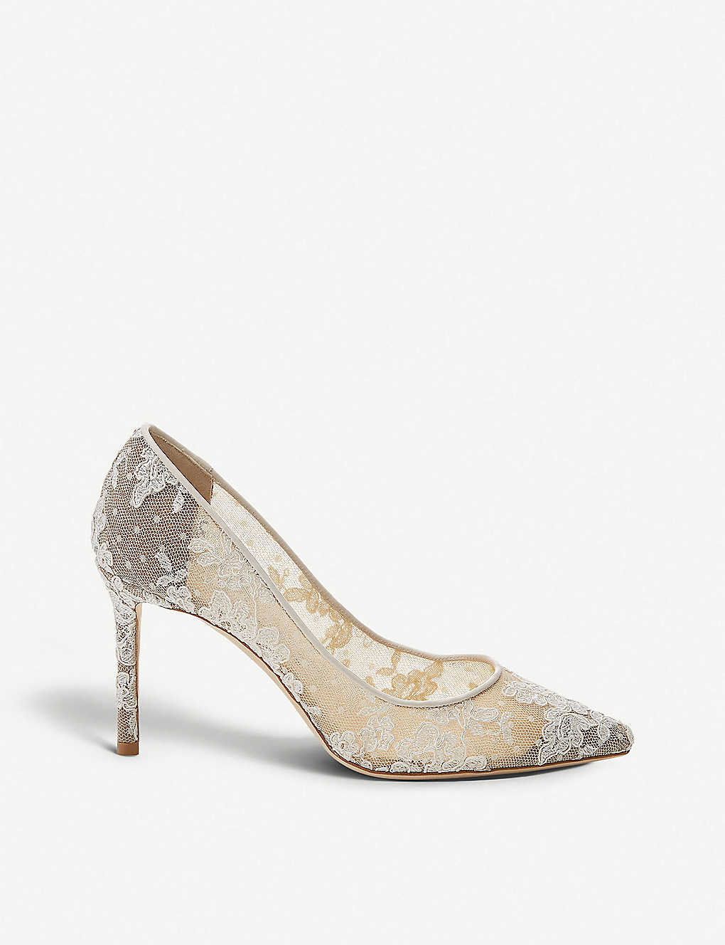 JIMMY CHOO: Romy 85 lace courts