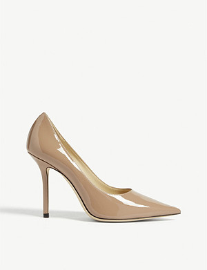 JIMMY CHOO Love 100 patent-leather courts