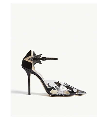 3ee1e0a2663 JIMMY CHOO Dazzle 100 pump (Black