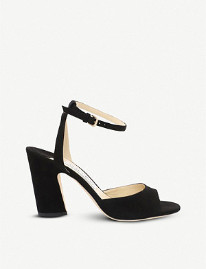 JIMMY CHOO Miranda suede sandals