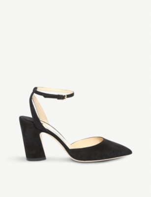 JIMMY CHOO Micky 85 suede pumps
