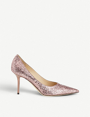 JIMMY CHOO Love 85 glittered courts