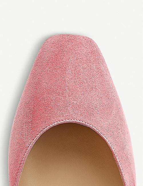 JIMMY CHOO Gee suede flats
