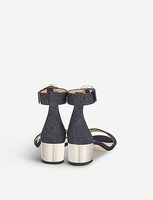 JIMMY CHOO Jaimie 40 denim sandals