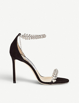 JIMMY CHOO Shiloh 100 suede sandals