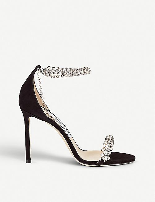 9c831b0b8 JIMMY CHOO Shiloh 100 suede sandals
