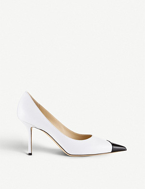JIMMY CHOO Love 85 patent leather stiletto heels