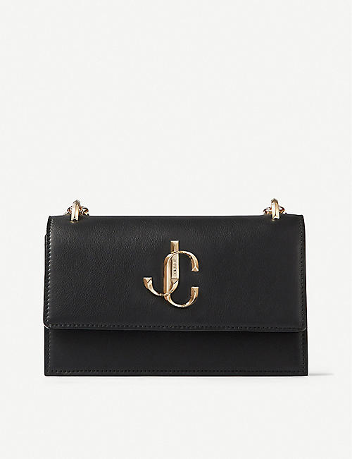 JIMMY CHOO: Bohemia leather clutch bag