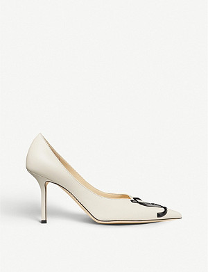 JIMMY CHOO Love 85/JC leather courts