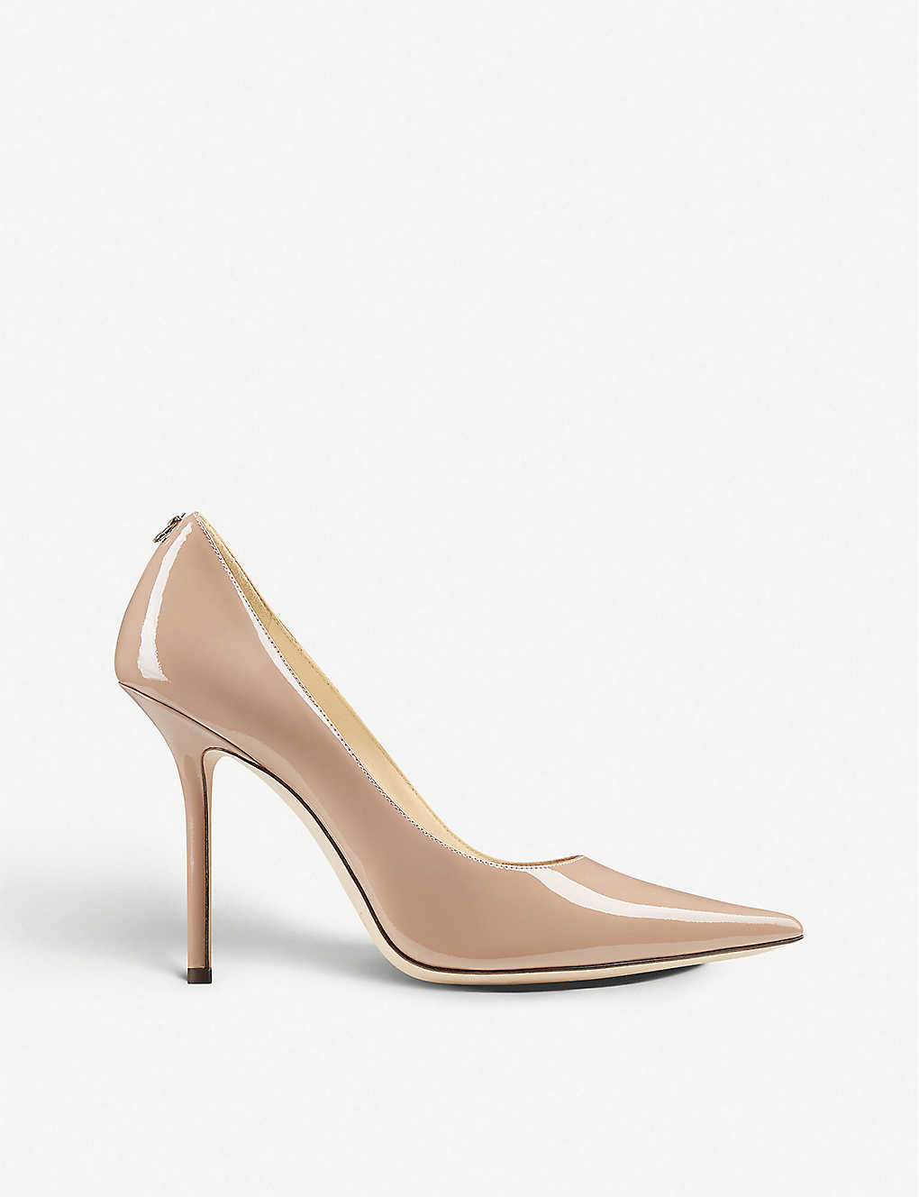 JIMMY CHOO: Love 100 patent-leather courts