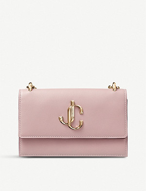 JIMMY CHOO Bohemia leather mini clutch