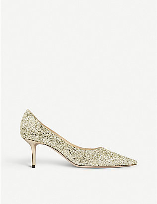 JIMMY CHOO: Love 65 glitter courts