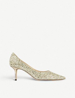 JIMMY CHOO Love 65 glitter courts