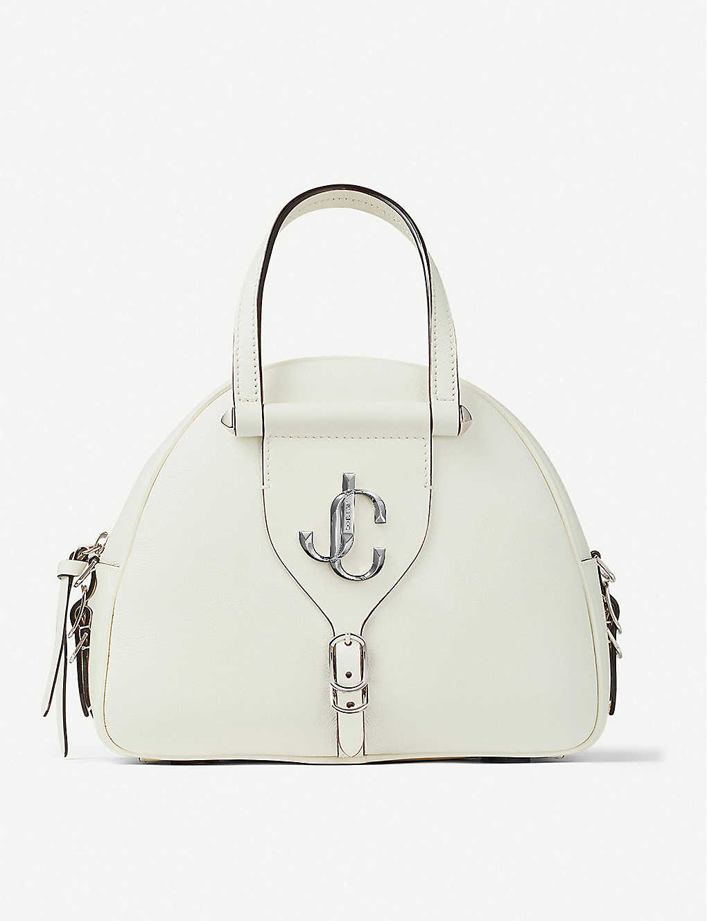 Jimmy Choo Bags Varenne leather bowling bag