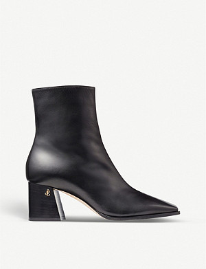 JIMMY CHOO Bryelle 65 leather ankle boots