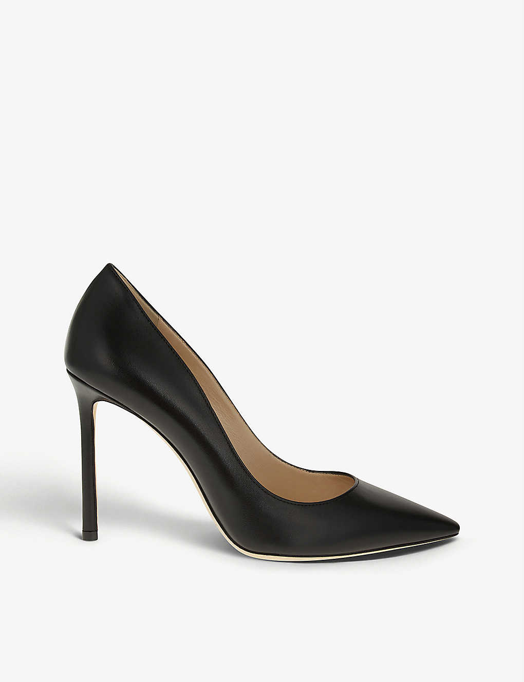 JIMMY CHOO: Romy 100 leather courts