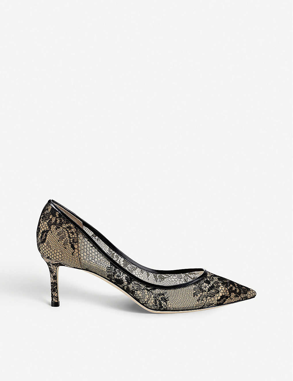 JIMMY CHOO: Romy 60 lace courts