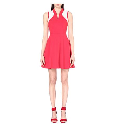 5fdab83b2b6 KAREN MILLEN - Panelled cotton-blend skater dress