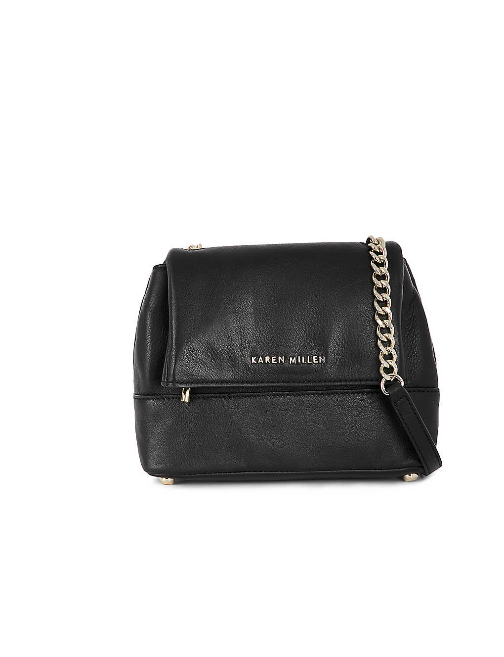 1ad477d443 KAREN MILLEN - Santa Monica leather shoulder bag | Selfridges.com