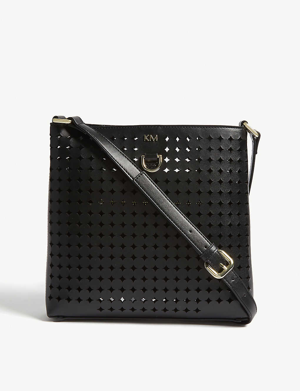 7ce62b7894 KAREN MILLEN - Perforated cross-body bag | Selfridges.com