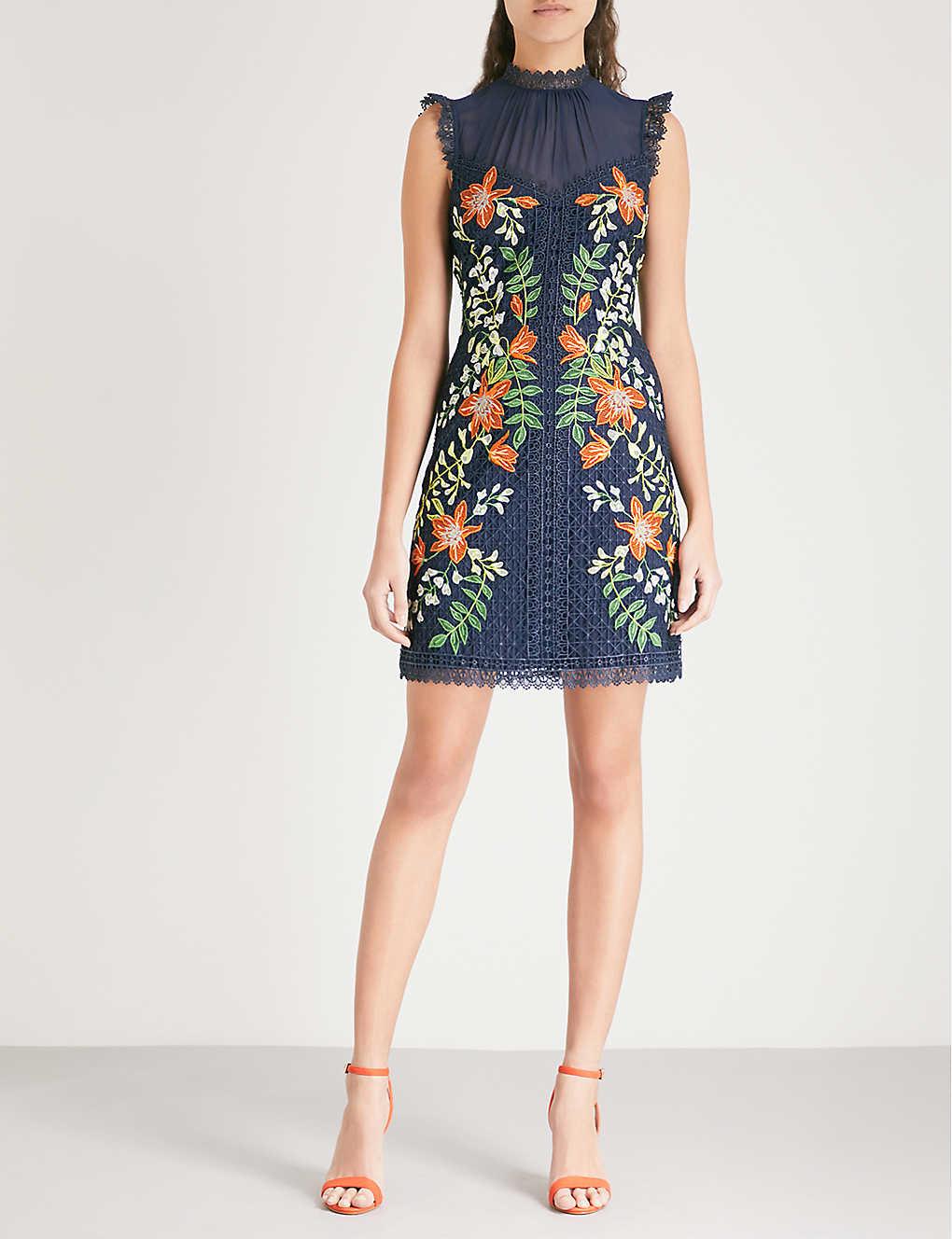 d1eadf1353 KAREN MILLEN - Wisteria lace dress