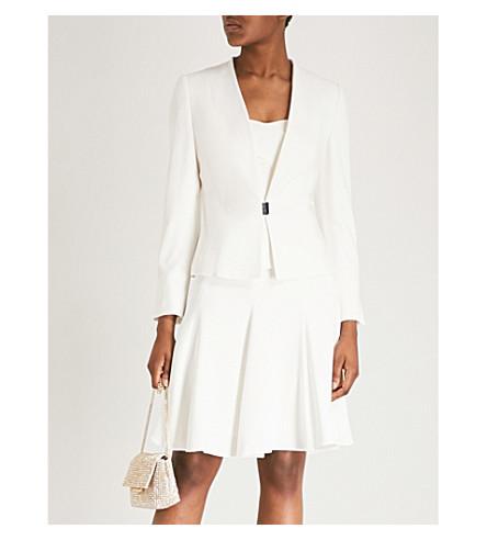 Karen Millen V-neck woven jacket