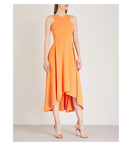 Karen Millen V-neck midi dress