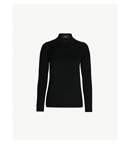 6d5e55b3ab9 KAREN MILLEN - Sequin-embellished turtleneck jumper | Selfridges.com