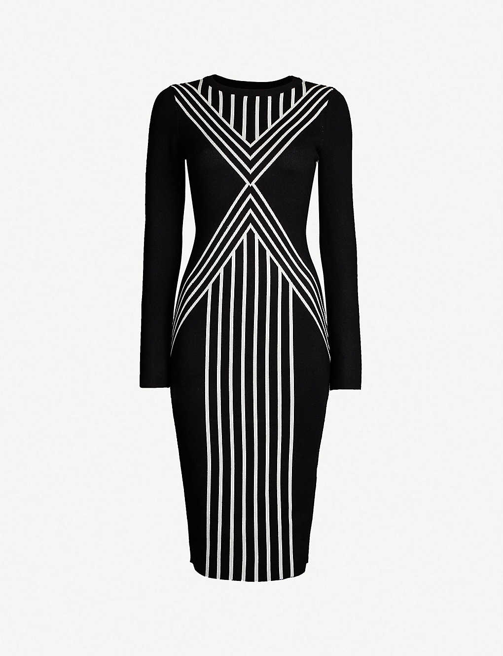 d03c352dc63 KAREN MILLEN - Body Contour knitted midi dress | Selfridges.com