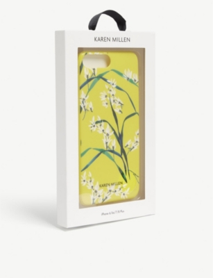 KAREN MILLEN Oriental print iPhone 6/6s/7/8 Plus case