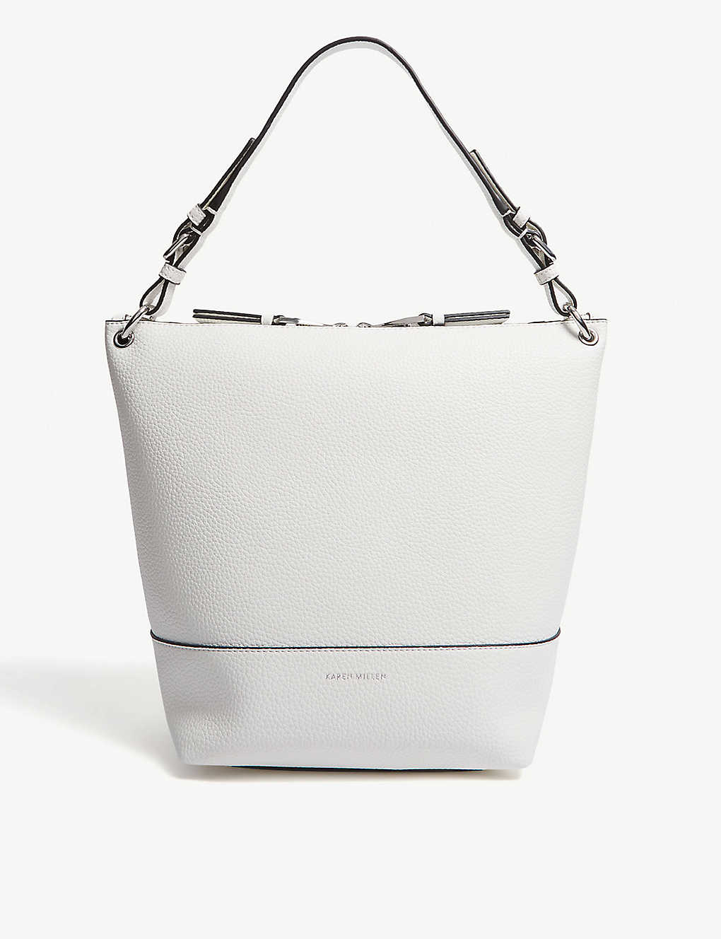 a6662a9b37 KAREN MILLEN - Leather shoulder bag | Selfridges.com