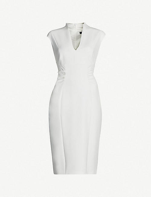 KAREN MILLEN Crepe pencil dress