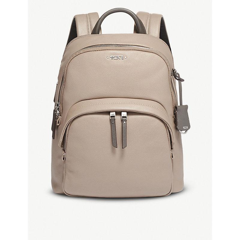TUMI | Dori Leather Backpack | Goxip