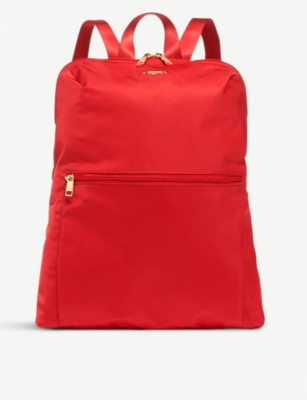 TUMI Just In Case coated canvas backpack