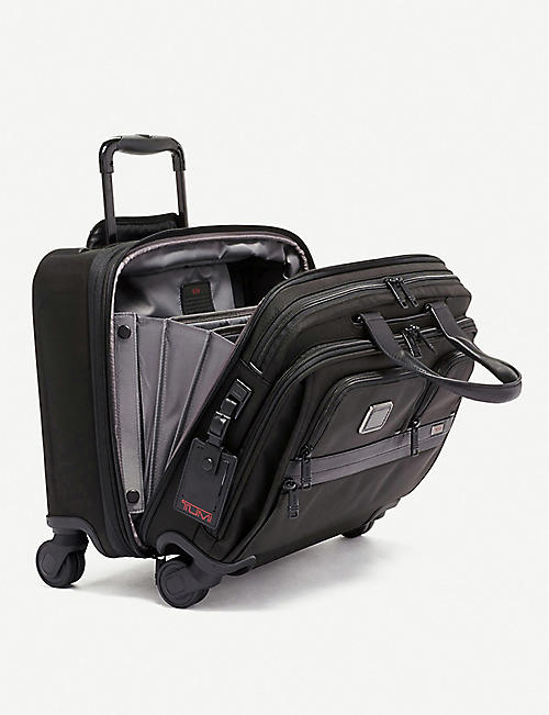 TUMI Deluxe four-wheeled laptop brief