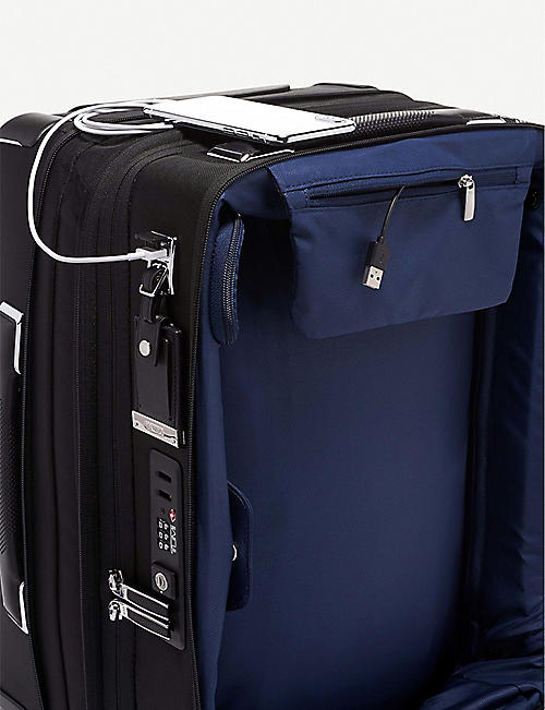 TUMI International Dual Access four-wheel carry-on suitcase 56cm