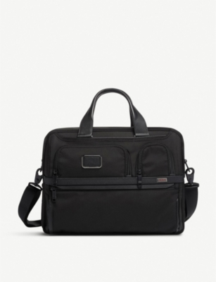 TUMI Expandable Organizer Laptop brief bag